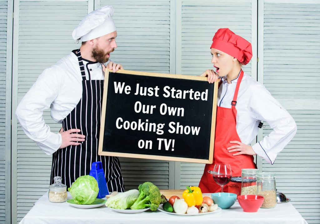 Cooking Show on Roku, Amazon Fire TV, AppleTV