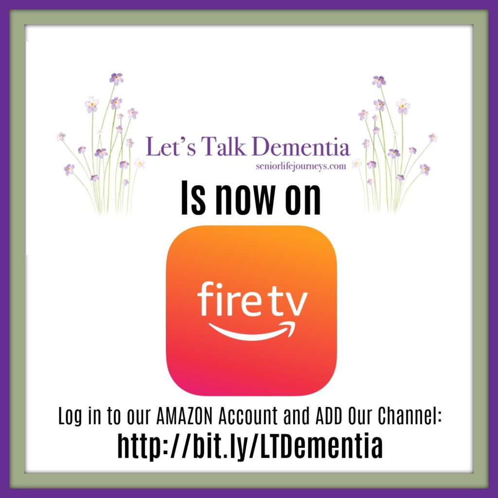 Let's Talk Dementia on Amazon Fire TV